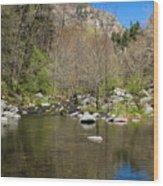 Oak Creek View Wood Print