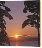 Oak Harbor Sunrise II Sr 2002 Wood Print