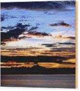 Oak Harbor Sunrise Sr 1002 Wood Print