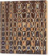 Oak Stump Abstract Wood Print