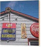 Oakdale Station #2 Wood Print