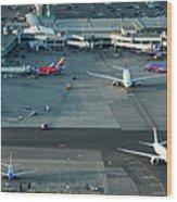 Oakland International Airport Wood Print