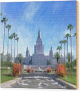Oakland Temple No. 1 Wood Print