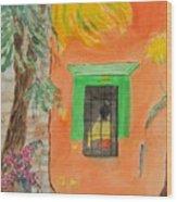 Oaxaca Mexico Church Colors Wood Print
