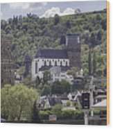 Oberwesel Old And New Wood Print