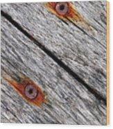 Oblique...hardness Wood Print