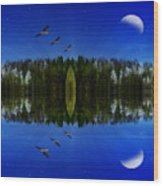 Oblivion Wood Print