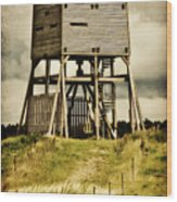 Observation Tower Wood Print