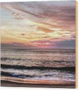 Obx Sunrise Wood Print