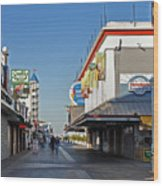 Oc Boardwalk Wood Print by Skip Willits