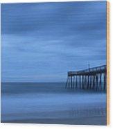 Ocean City Pier 2 Wood Print