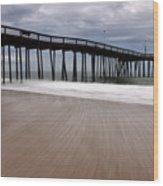 Ocean City Pier 3 Wood Print