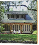 Ocala Limestone Home Wood Print