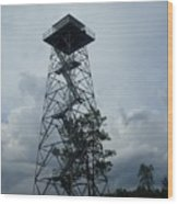 Ocala National Forest Fire Tower Wood Print