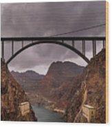 O'callaghan-pat Tillman Memorial Bridge Wood Print