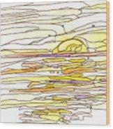Ocean 12 Wood Print
