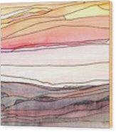 Ocean 8 Wood Print
