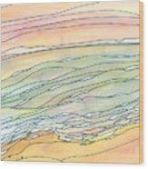 Ocean 9 Wood Print