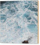 Ocean Abstract Wood Print