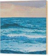 Ocean Art 1 Wood Print