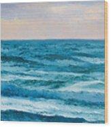 Ocean Art 2 Wood Print