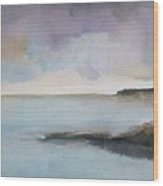 Ocean Bay Wood Print