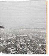 Ocean Beach In Tasmania Wood Print