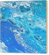 Ocean Blue -tac Wood Print