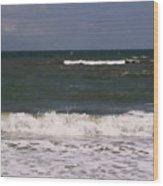 Ocean - Blue - Waves Wood Print