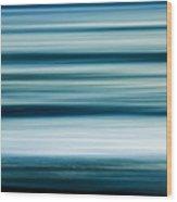 Ocean Blur 2 Wood Print