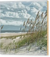 Ocean Breeze At Fort Fisher - Number One Wood Print