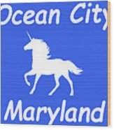 Ocean City Md Wood Print