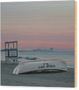 Ocean City Mornings Wood Print