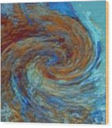 Ocean Colors Wood Print