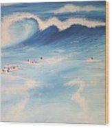 Ocean If Dreams  Wood Print