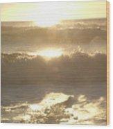 Ocean Meditation Wood Print