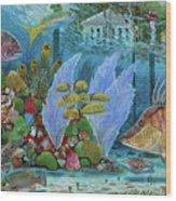 Ocean Reef Paradise Wood Print