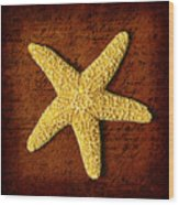 Ocean Relic Wood Print