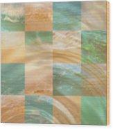 Ocean Ripples Wood Print