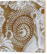 Ocean Sea Abstract Wood Print