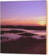 Ocean Shores Sunset Ss 1003 Wood Print