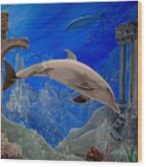 Ocean Splendor Wood Print