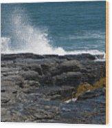 Ocean Spray Wood Print