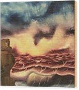 Ocean Storm Wood Print