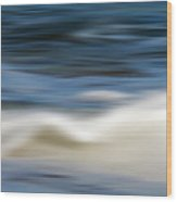 Ocean Stretch - Abstract Wood Print