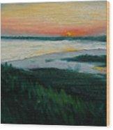 Ocean Sunset No.1 Wood Print