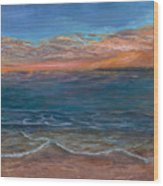 Ocean Sunset Series- Solitude II Wood Print
