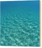 Ocean Surface Reflections Wood Print