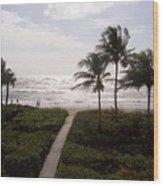 Ocean View 2007 Wood Print