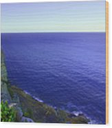 Ocean View From North Head Wood Print